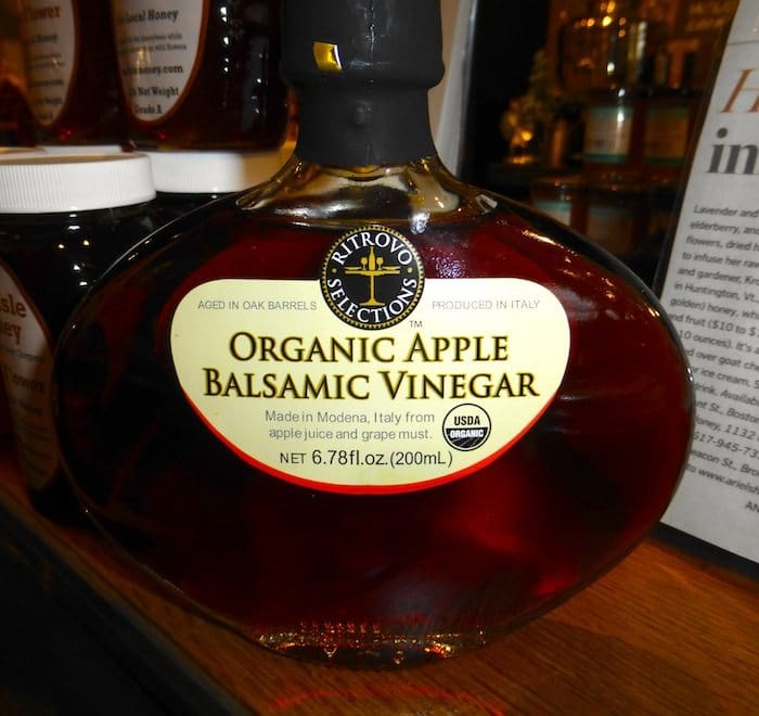 Organic Apple Balsamic in a beautiful bottle. Another award winner.