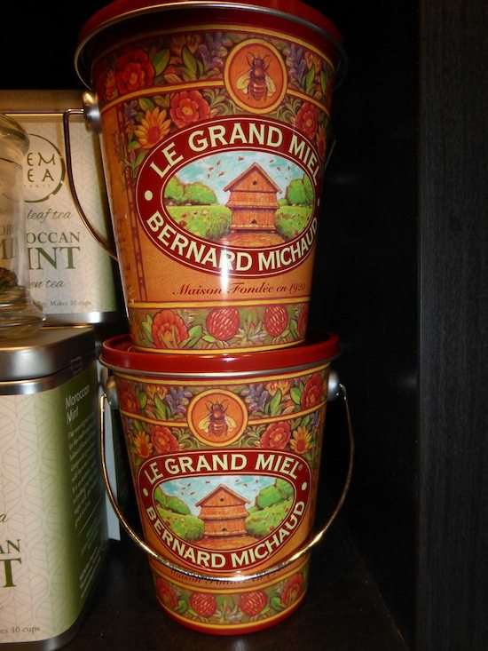 Honey from France in a beautiful tin guaranteed to be special
