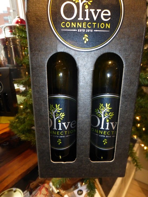Official Box of 2 large Extra Virgin Olive Oils in our branded labeling, your choice 2x19.95