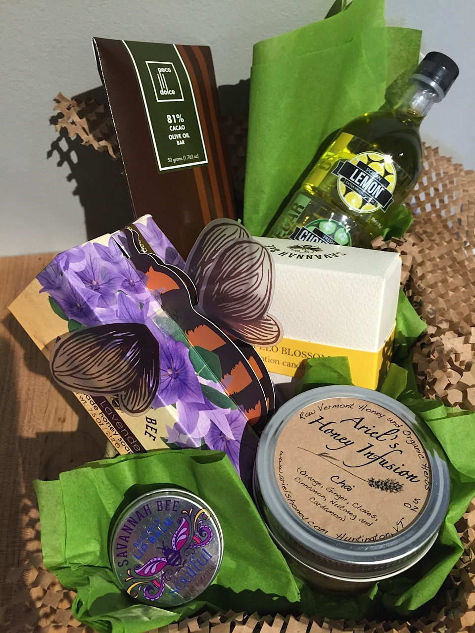 Happy birthday luxury gift olive connection for Luxury gifts for mom