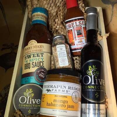 BBQ spice gift basket