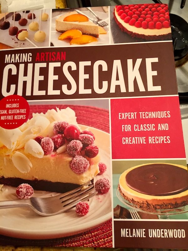 order from Amazon Making Artisan Cheesecake